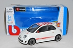 Abarth 500 weiss/red